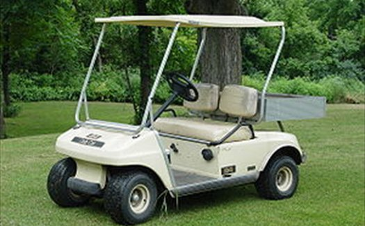Hire a golf buggy on St Mary's or Tresco